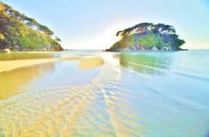 Abel Tasman Neuseeland nationalpark gruppereisen Hochzeitsreise Mietwagenrundreisen eigenen faust Neuseeland Reiseveranstalter deutsch Spezialist in Neuseeland