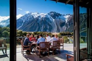 Aoraki Hermitage hotel mount cook urlaub in neuseeland gruppenreise kleingruppen individualreisen neuseelandsoezialist auckland deutschsprachig