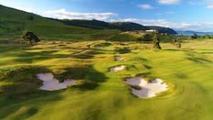 Golfreise Neuseeland Taupo McKinloch Luxusreise individualreise Mietwagenrundreise  vip golf neuseland-golftour weltklasse golfplatz