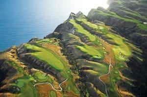 Golfreise Neuseeland Luxusreise 5 sterne weltklasse golfplatz Selbstfahrer Premium Mietwagenreise Golfurlaub Neuseeland DMC Spezialist