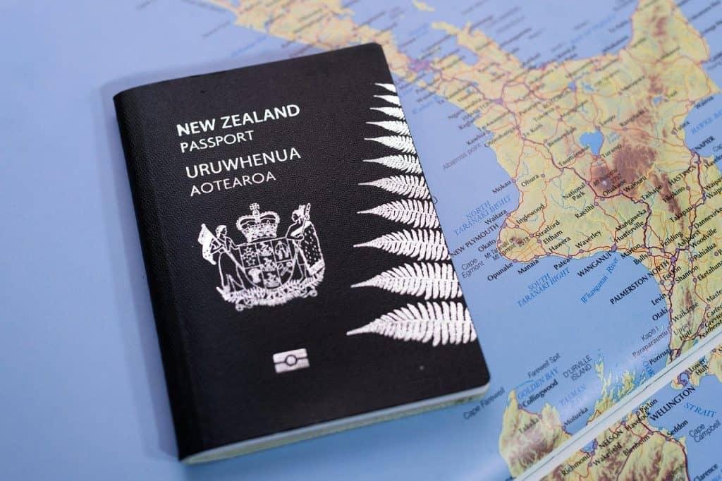 Vor der Abreise nach Neuseeland