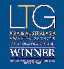 award winner neuseeland reiseanbieterdes jahres individuelle rundreisen deutscher preisgewinner bester reiseveranstalter neuseeland
