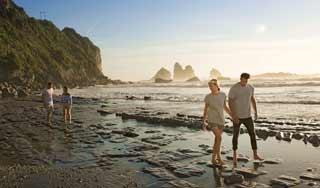 Neuseeland urlaub Greymouth luxusreise selbstfahrer gesundheitsreise RapahoeBeach Mietwagenreise Kleingruppenreise Individualreise Paarurlaub Rundreise Neuseelandspezialist