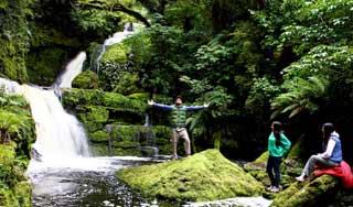 neuseeland catlins rundreise McLean Falls mietwagenrundreise selbstfahrer wandern natur erlebnisreise neuseeland urlaub 3 wochen