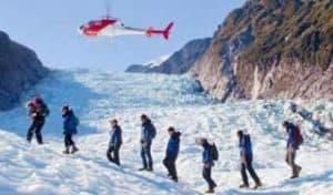 neuseeland franz josef gletscher rundreise helikopterflug eislandung gletscherwanderung individualreise luxusurlaub neuseelandreise selbstfahrer