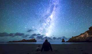 neuseeland sternenhimmel observation Castlepoint Wairarapa erlebnisreise studienreise neuseelandspezialist rundreise