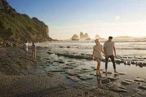 Greymouth Neuseeland RapahoeBeach Mietwagenreise Kleingruppenreise Individualreise Paarurlaub Neuseeland Spezialagentur Neuseelandurlaub 2021 buchen