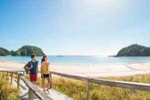 Neuseeland nordinsel rundreise matapouri meitwagen tour selbstfahrer neuseelandurlaub hochzeitsreise paarulaub