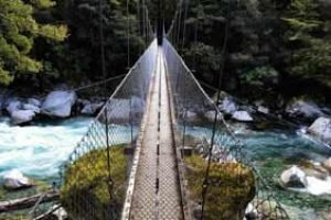 neuseeland kleine gruppe reiseleitung deutsch geführt hängebrücke aktiv erlebnisreise reiseveranstalter neuseelandreise luxusreise
