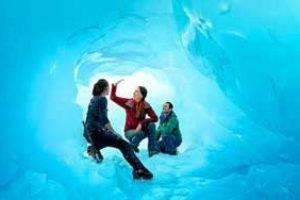 neuseeland rundreise franz-josef eislandung gletscher helikopterflug eiswanderung gletscherwanderung neuseelandurlaub erlebnisreise aktivreise